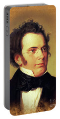 Franz Schubert, Music Legend Portable Battery Charger
