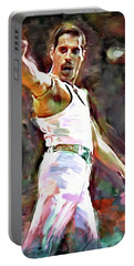 Freddie At Live Aid Portable Battery Charger