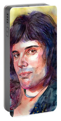 Freddie Mercury Young Portable Battery Charger