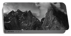 French Alps Spires Portable Battery Charger