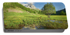 French Alps Valley II Portable Battery Charger