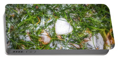 Portable Battery Charger featuring the photograph Fresh Snow by Jon Burch Photography