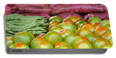 Fresh Tomatoes, Broad Beans And Sweet Potatoes Portable Battery Charger