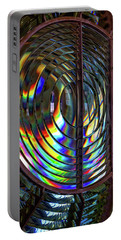 Fresnel Lens Point Arena Lighthouse Portable Battery Charger