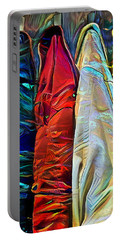 Portable Battery Charger featuring the digital art Friends by Pennie McCracken