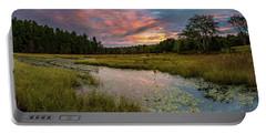 Friendship Panorama  Sunrise Landscape Portable Battery Charger