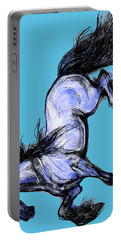 Friesian Mare Portable Battery Charger