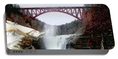 Frletchworth Railroad And Falls Portable Battery Charger