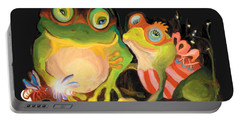 Frogs Overlay  Portable Battery Charger