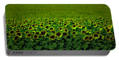 Front Row Sunflower Smiles Portable Battery Charger