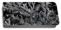 Frost Pattern Portable Battery Charger