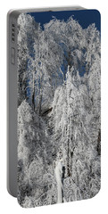 Frosted Trees Portable Battery Charger