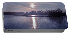 Lake Sunrise Photographs Portable Battery Chargers