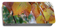 Icy Foliage Portable Battery Charger