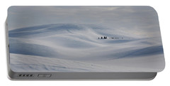 Frozen Winter Hills Portable Battery Charger