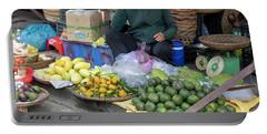 Fruit Market Woman 2, Vietnam Portable Battery Charger