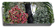 Fruity Palm Tree  Portable Battery Charger