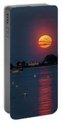 Full Strawberry Moon Rise Portable Battery Charger