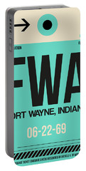 Fwa Fort Wayne Luggage Tag I Portable Battery Charger