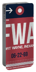 Fwa Fort Wayne Luggage Tag II Portable Battery Charger