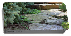 Garden Landscape - Stone Stairs Portable Battery Charger