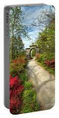 Garden Path And Arch Portable Battery Charger