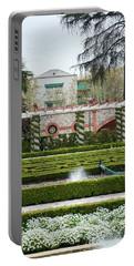 Gardens Of Cecilio Rodriguez - Retiro Park, Spain Portable Battery Charger