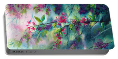 Garlands Full Of Flowers Portable Battery Charger