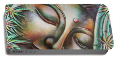 Gautama Buddha Portrait Portable Battery Charger