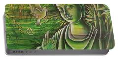 Gautama Buddha The Bamboo Tone Portable Battery Charger