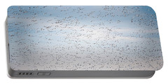 Geese In The Flyway Portable Battery Charger