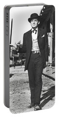 Gene Barry As Bat Masterson - 1958 Portable Battery Charger