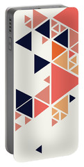 Geometric Painting 1 Portable Battery Charger