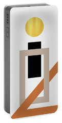 Geometric Painting 10 Portable Battery Charger