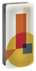 Geometric Painting 13 Portable Battery Charger