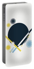 Geometric Painting 3 Portable Battery Charger