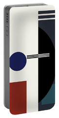 Geometric Painting 9  Portable Battery Charger