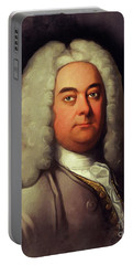 George Frederic Handel, Music Legend Portable Battery Charger