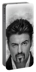 George Michael Portable Battery Charger