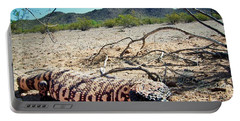 Gila Monster In The Arizona Sonoran Desert Portable Battery Charger
