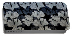 Ginko Leaf Pattern Portable Battery Charger