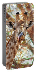 Giraffe Says Yum Portable Battery Charger