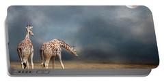 Giraffes Portable Battery Charger