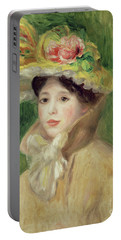 Girl With Yellow Cape, 1901 Portable Battery Charger