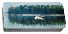 Glacier National Park Lake Reflections Portable Battery Charger