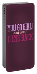 Go Girl Portable Battery Charger