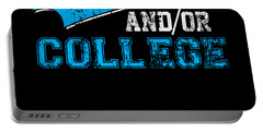 Go Local Sports Team Andor College Distressed Portable Battery Charger