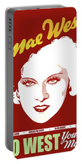 Go West Young Man Lobby Promotion 1936 Portable Battery Charger
