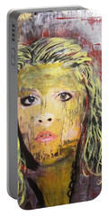 Gold Dust Woman Portable Battery Charger