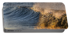 Flashes Of A Golden Sunrise Portable Battery Charger